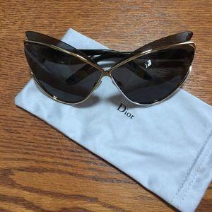 DIOR AUDACIEUSE 1/S Sunglasses 04BT Gold 72-04-115